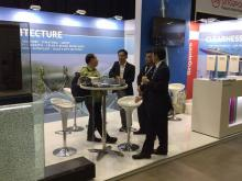 Glasstech Asia 2017: Trosifol™ scores with structural films and stand features