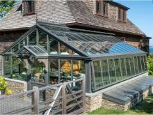Case Study: Traditional Residential Greenhouse with Custom Flair