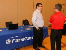 Technology corner, presentations, experts, conversation... all at FenCon18