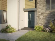 Add Contemporary Style with New Venlo RD2 Entrance Doors
