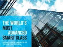 NODIS Launches Smart Glass Technology With Instantly Electrically Switchable Color, Infrared Filtering and Tinting