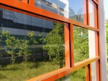 Smart semi-transparent energy generating PV windows