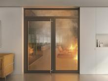 Winner of the German Design Award 2019: The Schüco FireStop aluminium fire and smoke protection range.