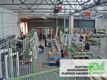 Sidey is a finalist in the Scottish Environment Business Awards