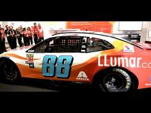 Alex Bowman's 2019 LLumar® Paint Scheme Revealed at SEMA