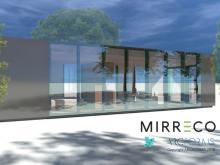 Display Unit: A conceptual design of a Mirreco micro home incorporating ClearVue window technology