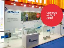 Comenza exhibits at Big5-Dubai