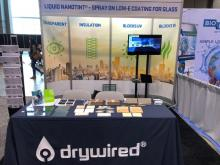 DryWired Launches Liquid NanoTint® 2.0 with UL GREENGUARD Gold Certification at the 2018 Greenbuild International Conference and Expo