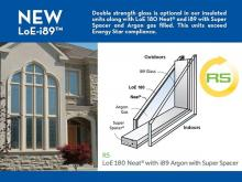 Lower your Energy Costs! Introducing ALL-NEW LoE-i89™ Glass