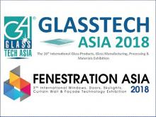 Check out the exhibitors at ASEAN's largest glass show, Glasstech Asia 2018 & Fenestration Asia 2018!