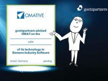 goetzpartners advised OMAT Ltd. on the sale of its technology  to Siemens Industry Software Ltd.