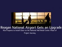 Reagan National Airport Gets an Upgrade | Kensington Glass Arts, Inc.