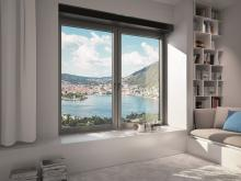 The Schüco VentoTherm Advanced ventilation system is a window-integrated ventilation and extraction system with air filter, heat recovery and sensor control which allows continuous air exchange when the window is closed.