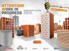 44th International Building Trade Fair SEEBBE – The Promotion Center of the Construction Industry