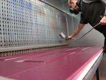 Sliders UK launches new in-house composite door spray painting facility