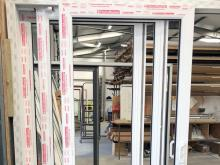 Triple Track door system available from PatioMaster South East