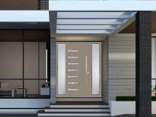 Alutech Systems residential aluminium entrance door