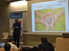 "BOROSIL participated in a workshop organised by INES on ""Floatovoltaics"" at Polytech Chambery, France"