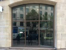 Barclays Bank in Birmingham fitted with the Jack Aluminium's JD47 Shopfront System