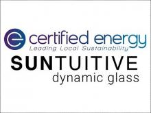 Suntuitive® Dynamic Glass and Certified Energy Connect on Representation