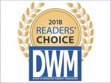 FeneVision wins Door & Window Market Magazine's 2018 Readers' Choice Award