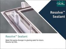 Resolve® Sealant Offers Alternative to Traditional Wet Glaze Options
