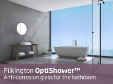 Pilkington: From now on, glass shower screens will always stay clean and transparent
