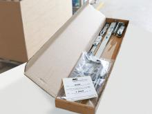 "This one-pack basic carton contains a complete Roto ""AL Designo"" Tilt&Turn hardware set."