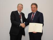 "Prof. Ahmet Kırman is awarded with the Order of the ""Star of Italy"""