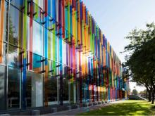 Vanceva® adds designer touch to computer science building at Queen's University Belfast