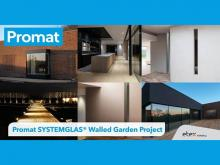 Promat SYSTEMGLAS® provides slim fire rated glazing solution for pioneering new development