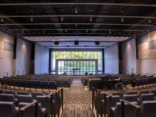 The NanaWall SL70 system helps the Fritzsche Center shine.