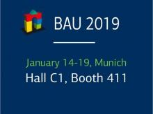 ETEM will participate in The BAU 2019 exhibition