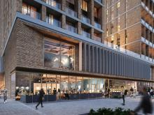 Top marks for Maple in vertical fin façade project