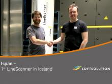 First LineScanner in Iceland