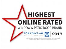 Milgard Remains the Highest Online Rated Window and Patio Door Brand for the 3rd Consecutive Year