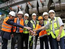 Restart of the float-glass line in Gladbeck