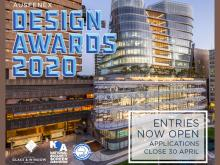 Entries for the 2020 Design Awards are now open