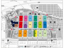 Hall layout: Updates in some sections at BAU 2021