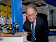 The enthusiasm for research, testing and technology has accompanied Prof. Ulrich Sieberath for 37 years. (Source: ift Rosenheim)