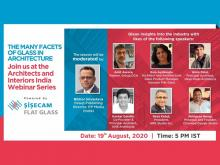 Join Şişecam at the Architects & Interiors India Webinar Series