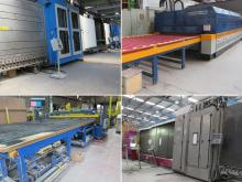 Online Auction - Bystronic Insulating glass line, Lisec glass line, glaston tempering furnace