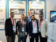 ThornGate team with Giovanni Quarti, Forel Area Manager at ZAK GLASS 2019
