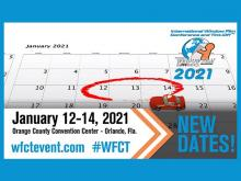 WFCT announces a change in dates to January 12-14, 2021