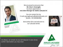 New Sales Manager for Adelio Lattuada Srl