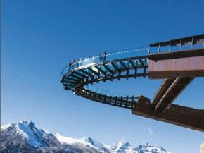 DuPont™ SentryGlas® Helps Set the Scene in Stunning Natural Surroundings - Glacier Skywalk, Canadian Rockies