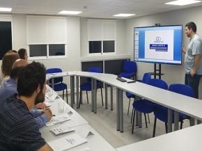 Oribay Group Adhesive Training for its customers