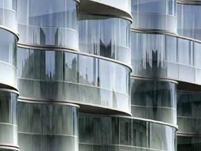 Curved and Self-Conditioned Glazing for the Wagram Hotel, Paris