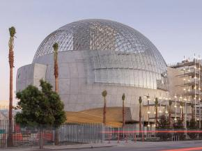 Completed glass dome in December 2019. Image: Patrick Price.