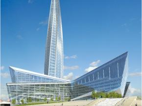 Saint-Gobain Glass at Lakhta Center, Saint-Petersburg, Russia